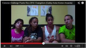 June 2014, Amanda, Kristen, Gabriel