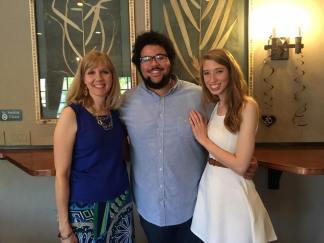 Ellie, Austin, Karen